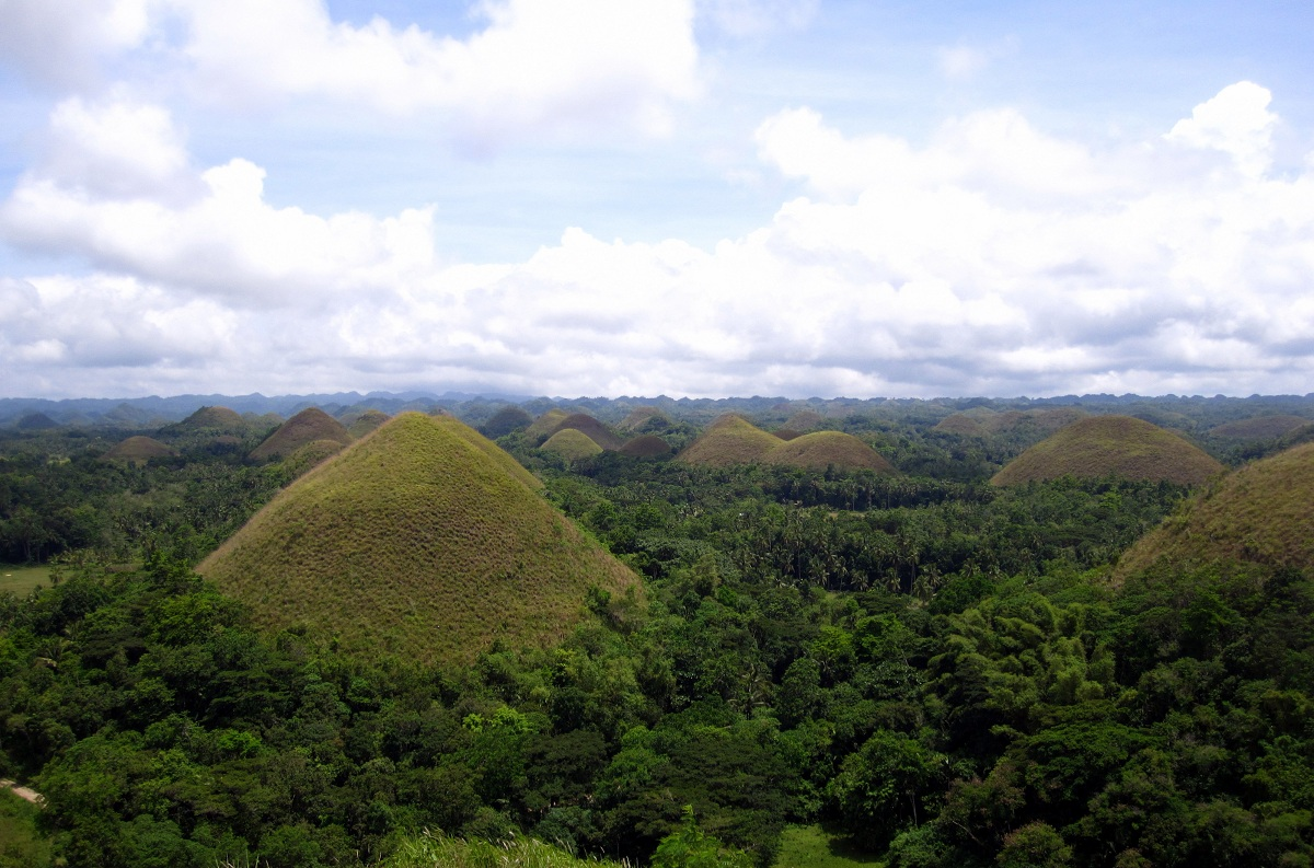 Photo Of The Week The Chocolate Hills In Bohol
