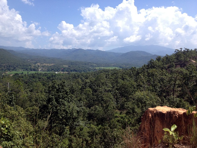 Mountains in Pai, Thailand
