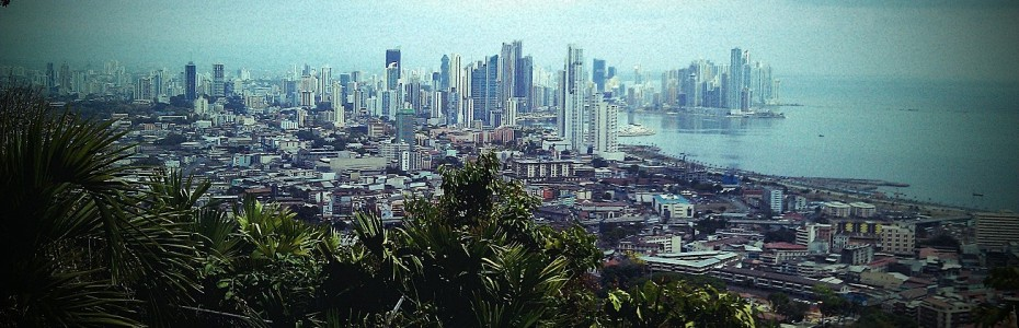 Panam City downtown view