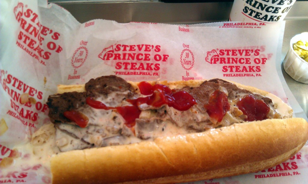 cheesesteaks in philadelphia