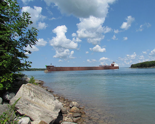 largest ship in the great lakes