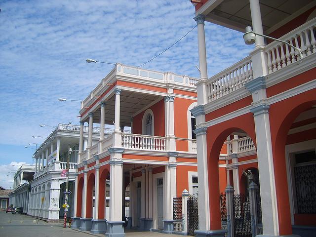 architecture in Granada, Nicaragua