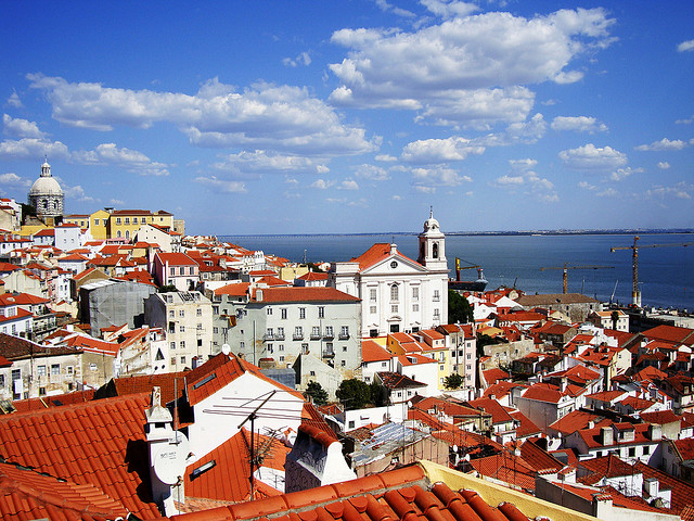cityscape of Lisbon Portugal