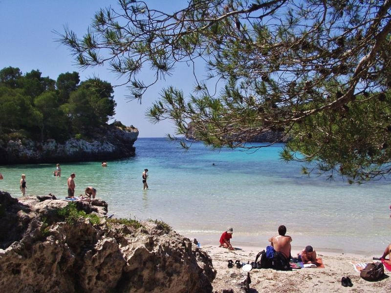 Despite being busy in spots, you can still find seclusion in Menorca, like at this beach...